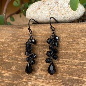 Loft | Earrings Black Dangle